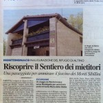 2013-06-25 Articolo Inaugurazione Rifugio Altino di Montemonaco