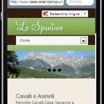 Casa Vacanze Ristorante Lo Spuntino - Iphone