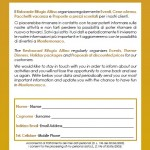 Modulo Mailinglist Rifugio Altino