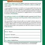 Modulo Mailinglist Santa Lucia