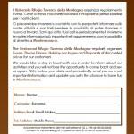 Modulo Mailinglist Taverna della Montagna