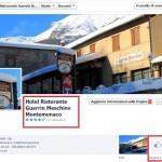 Pagina Facebook Cliente Guerrin Meschino