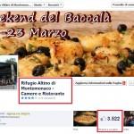 Pagina Facebook Cliente Rifugio Altino