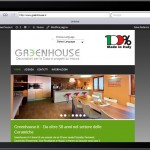 Sito Greenhouse.it - Ipad