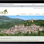 Sito Web Hotel Ambro - Montefortino - Ipad