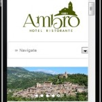 Sito Web Hotel Ambro - Montefortino - Iphone